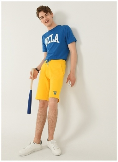 UCLA Ucla Sweat Şort Sarı